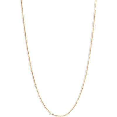 Bony Levy Bar Station Chain Necklace (Nordstrom Exclusive)