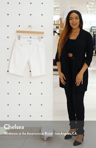 Harriette Frayed Bermuda Shorts, sales video thumbnail