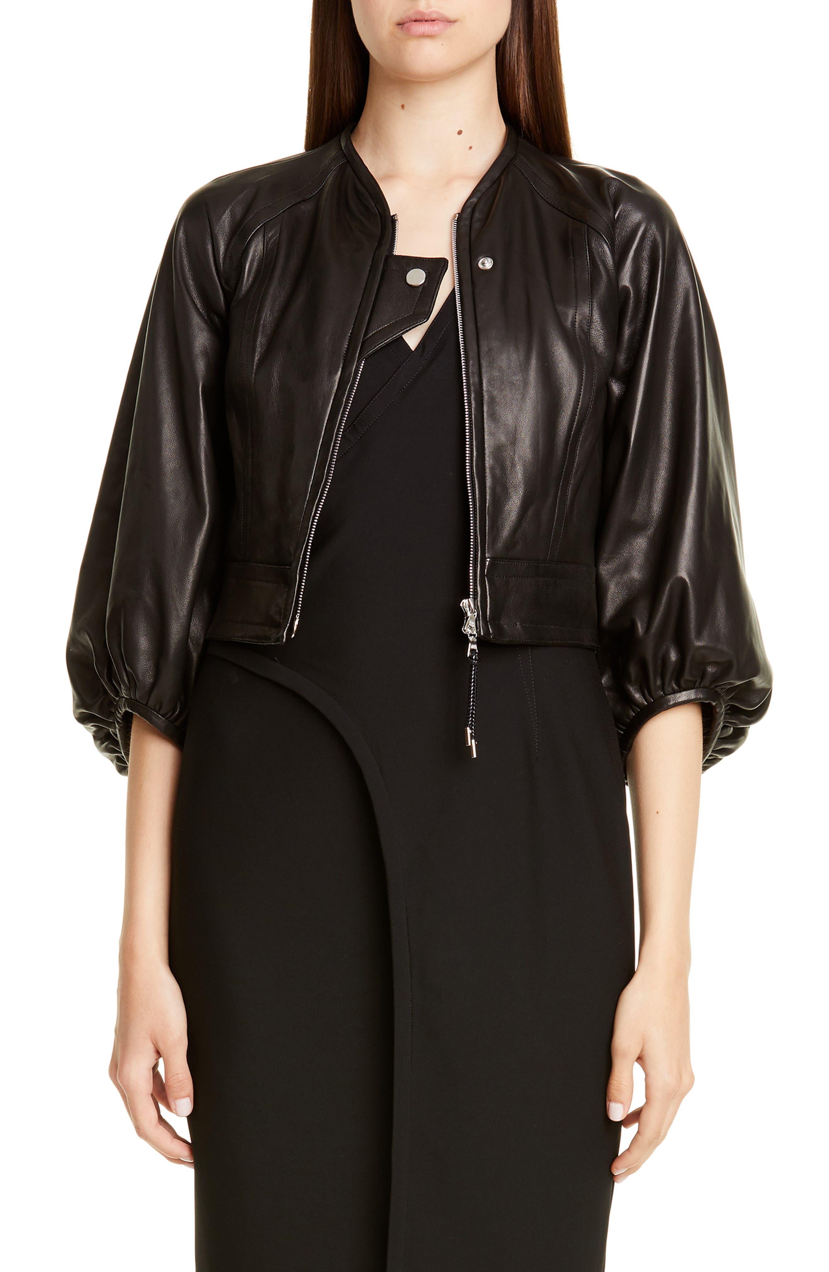 Yigal Azrouel Mechanical Stretch Dress, Black