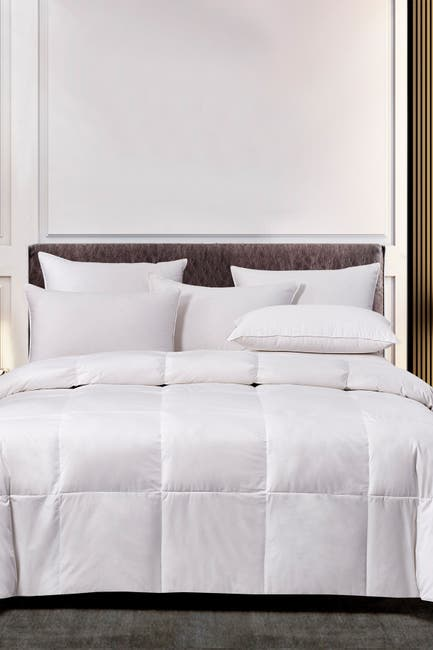 Image of Blue Ridge Home Fashions Scott Living Light Warmth Goose Feather & Down Natural Blend Comforter - Full/Queen - White