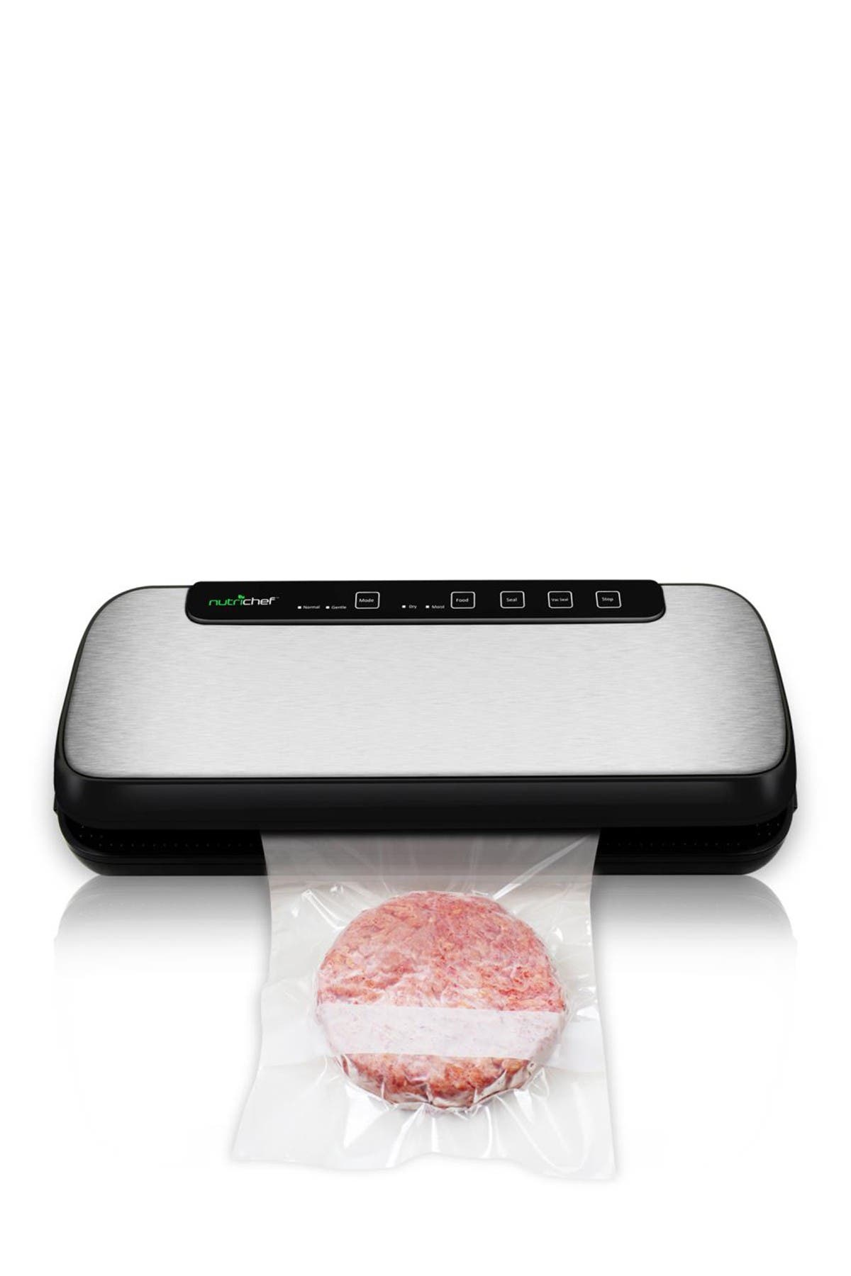 Image of NutriChef Electric Air Sealing Automatic Vacuum Sealer Food Preserver