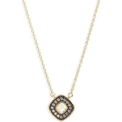 Freida Rothman Single Stone Pendant Necklace