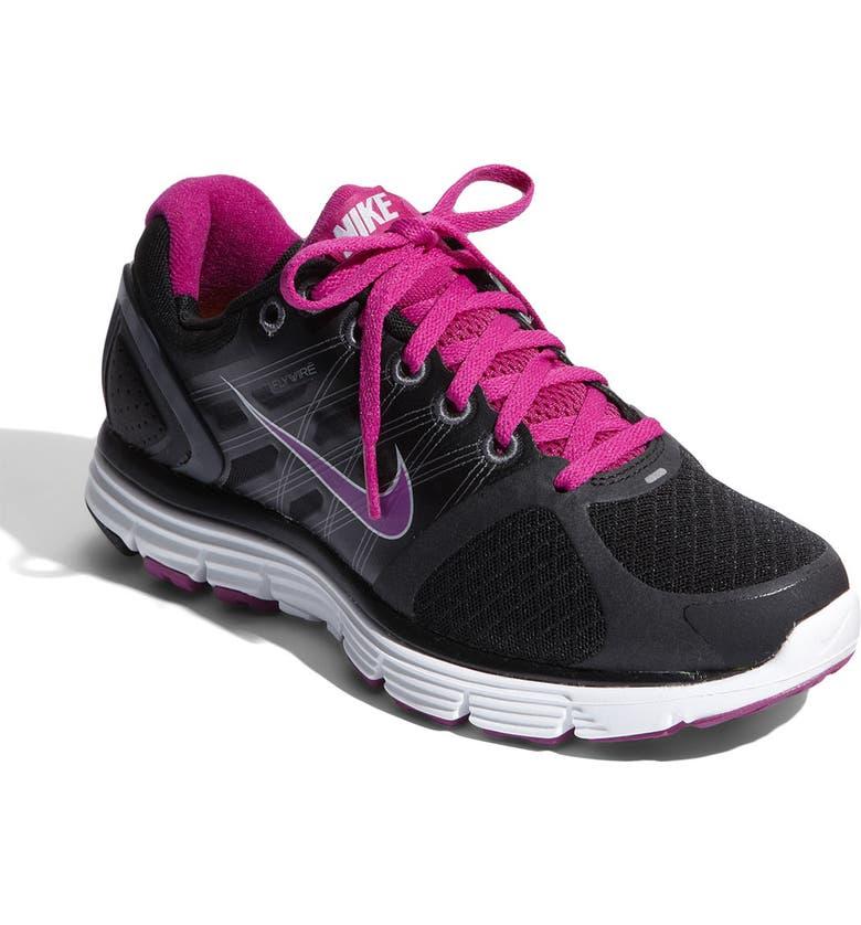 NIKE 'LunarGlide+ 2' Running Shoe, Main, color, 001