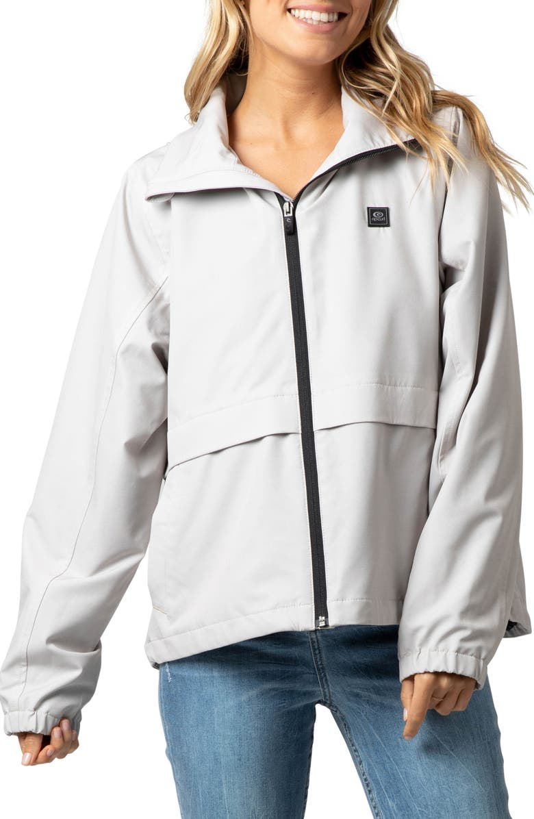 RIP CURL Anti Series Elite II Jacket, Main, color, LIGHT GREY