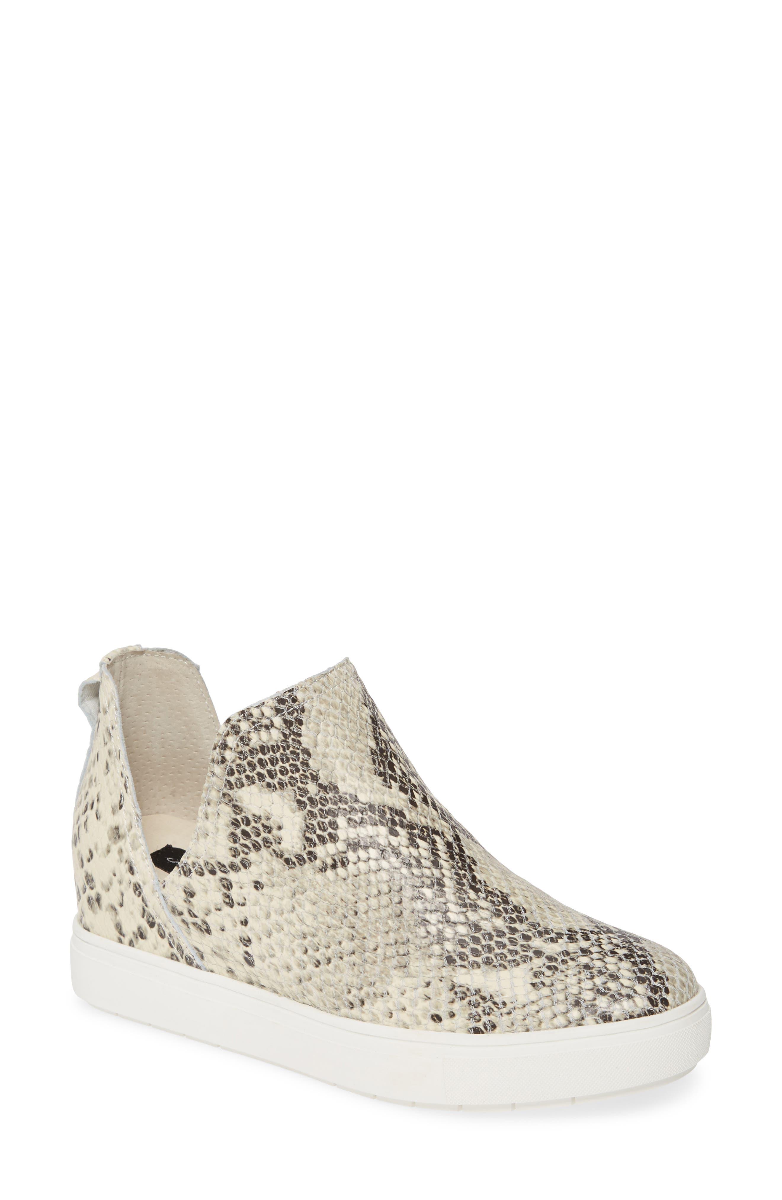 Steven By Steve Madden Canares High Top Sneaker- White