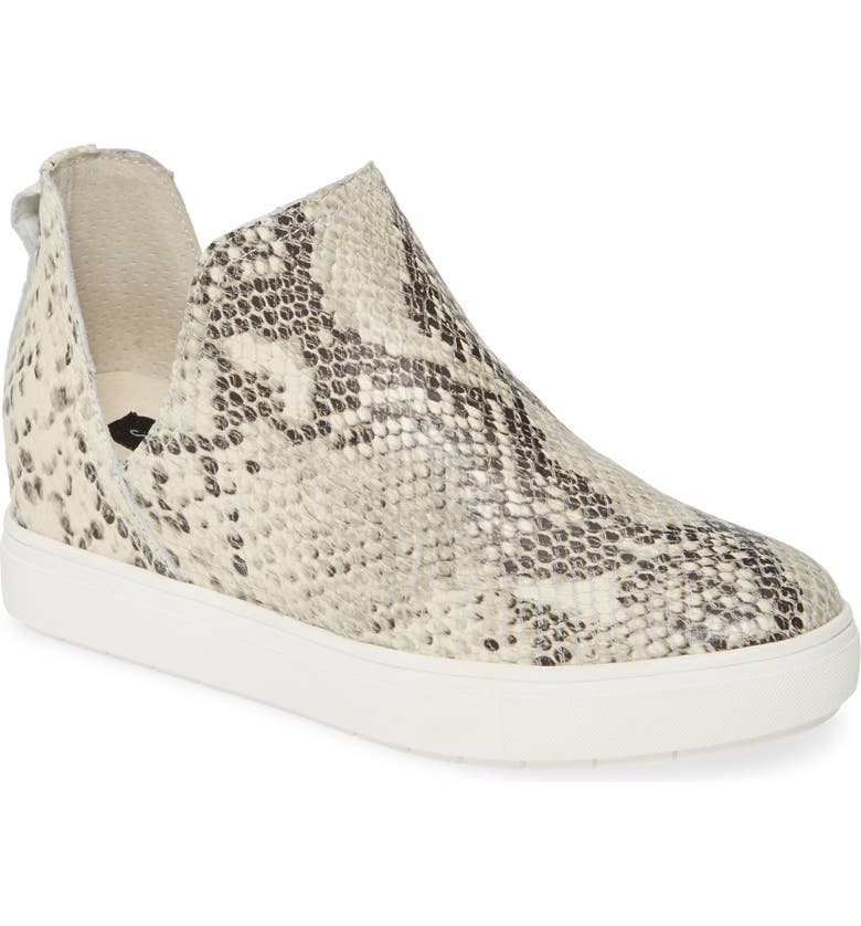STEVEN BY STEVE MADDEN Canares High Top Sneaker, Main, color, WHITE MULTI LEATHER