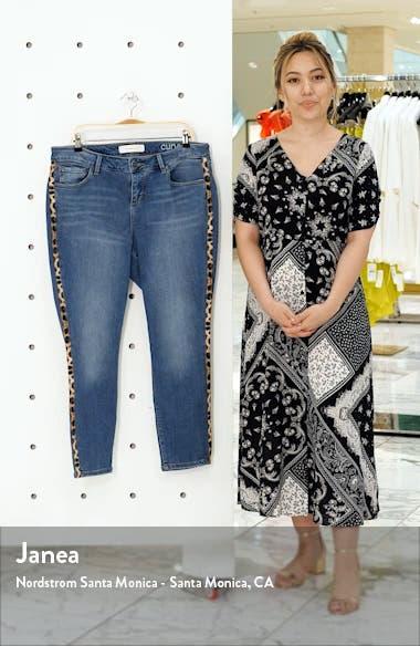 Leopard Stripe High Waist Jeans, sales video thumbnail