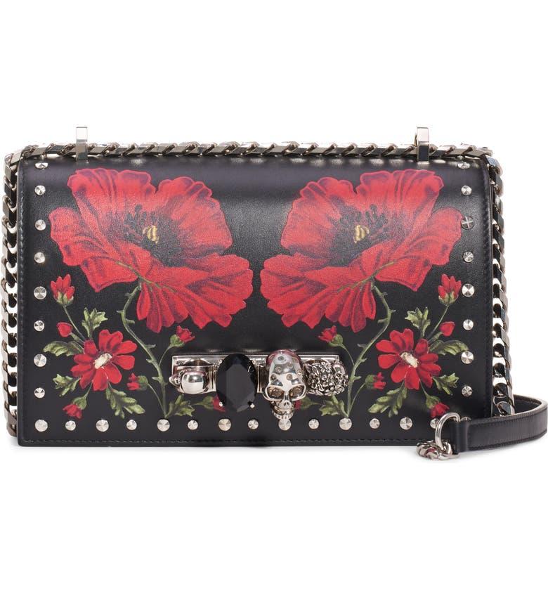 Studded Leather Shoulder Bag by Alexander Mcqueen