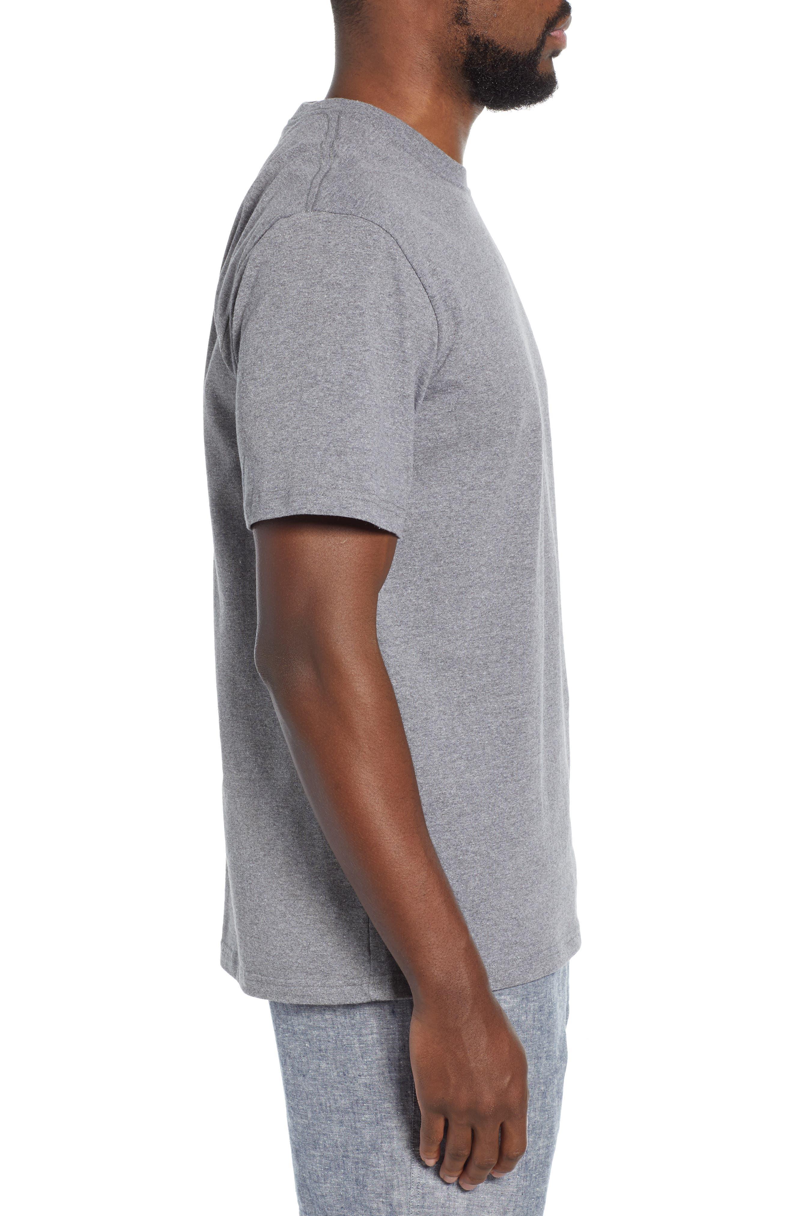 ,                             Fitz Roy Bison Responsibili-Tee T-Shirt,                             Alternate thumbnail 3, color,                             GRAVEL HEATHER