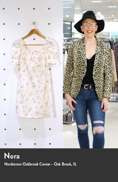 Robles Linen Minidress, sales video thumbnail