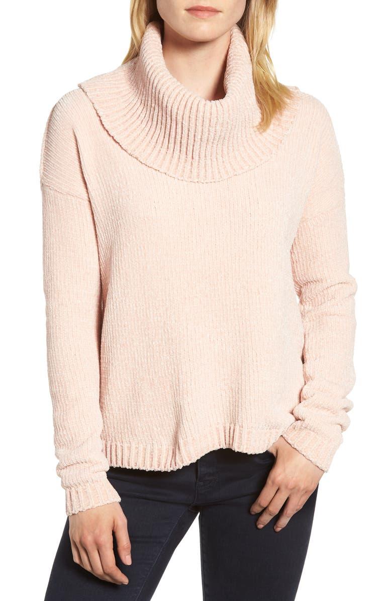 MICHAEL MICHAEL KORS Cowl Neck Sweater, Main, color, 696