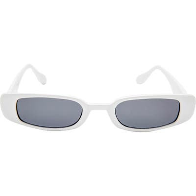 Rad + Refined Mini Rectangle Sunglasses - White