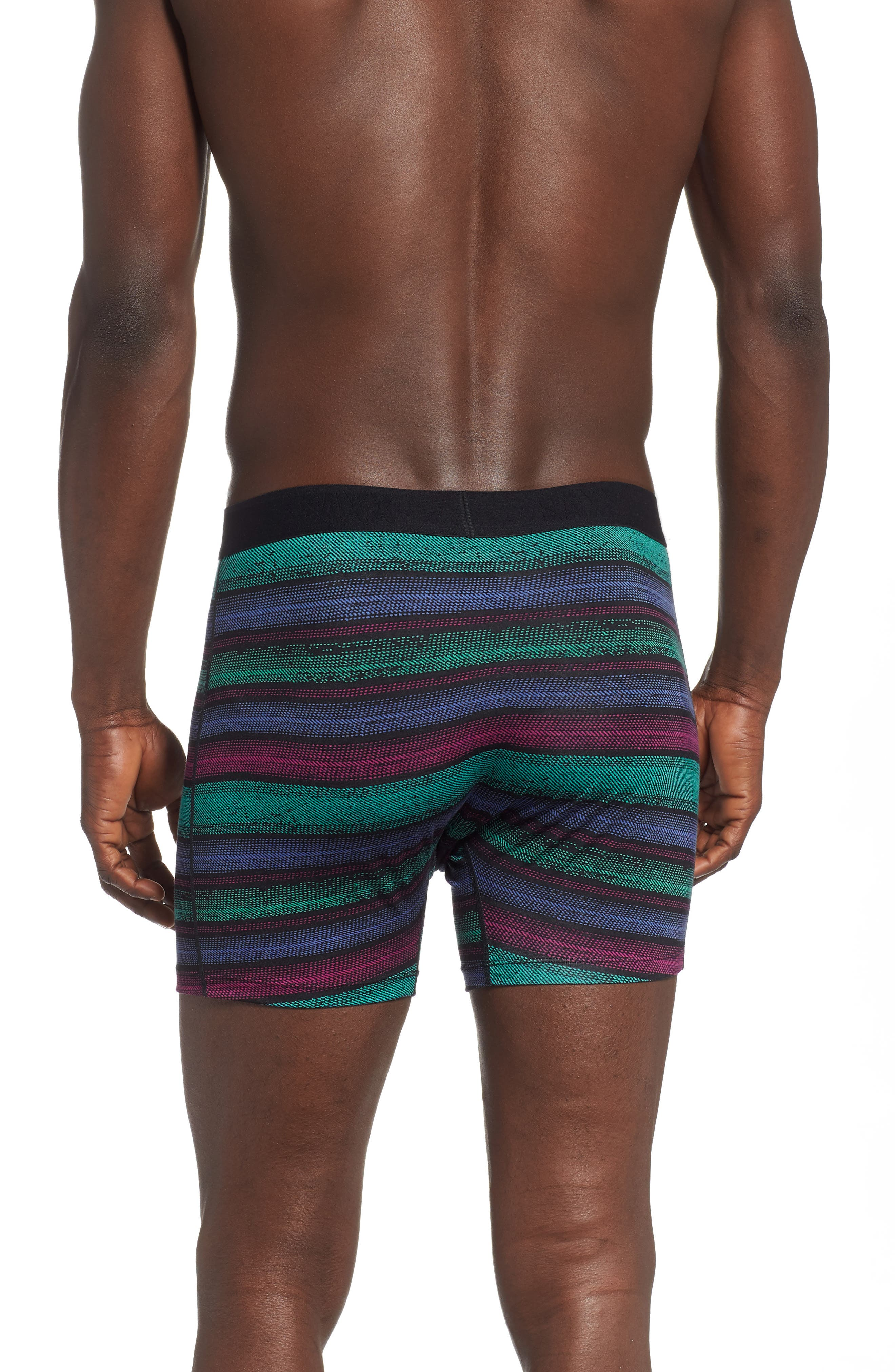 ,                             Ultra 2-Pack Stretch Boxer Briefs,                             Alternate thumbnail 3, color,                             CROSSGRAIN STRIPE