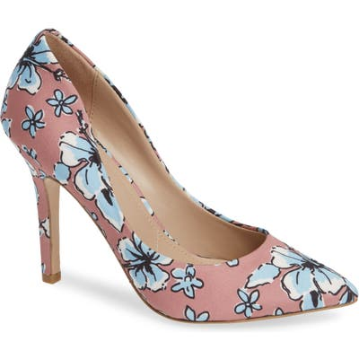 Charles By Charles David Maxx Pointy Toe Pump, Pink