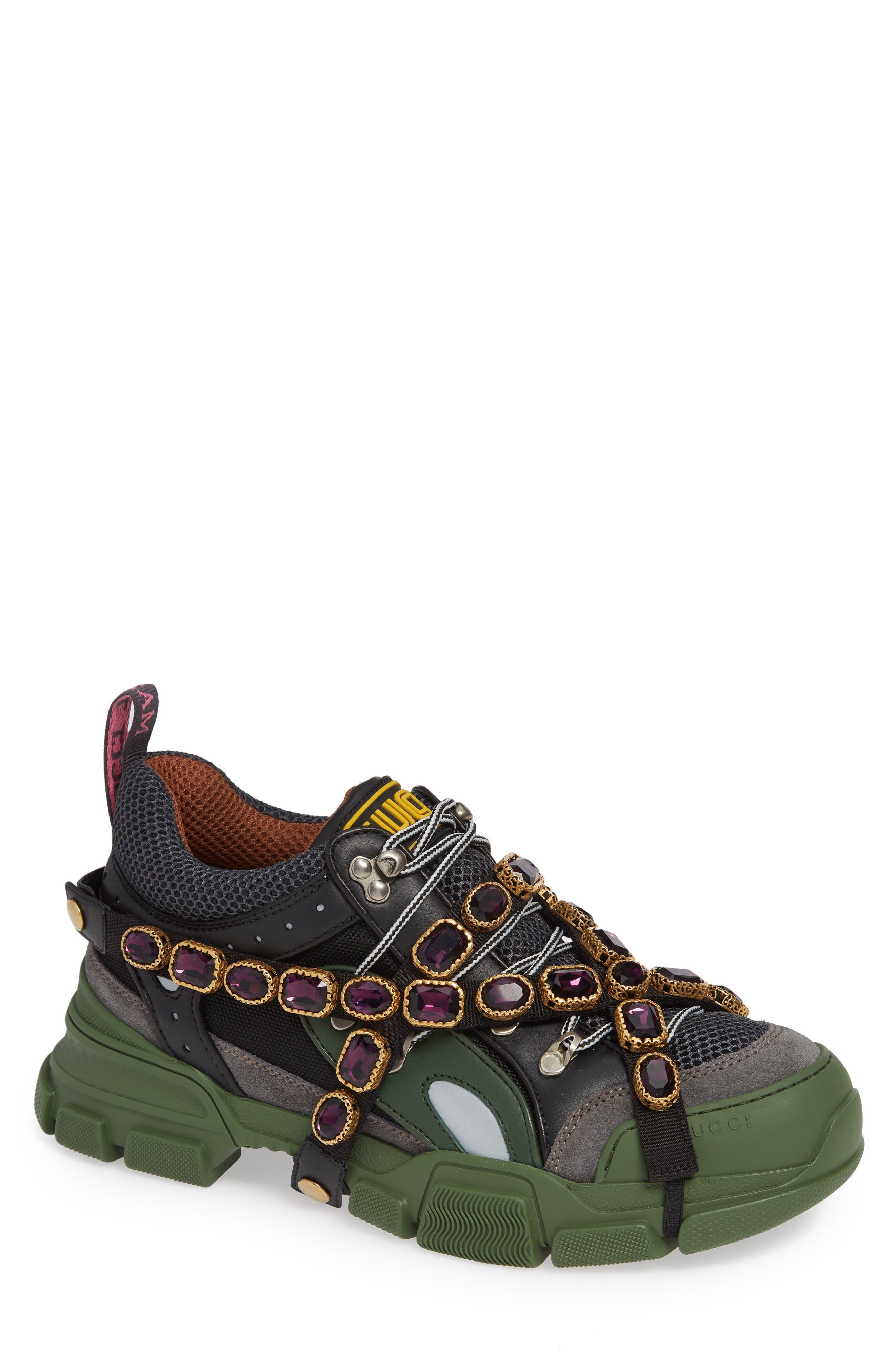 Gucci Journey Jewel Hiker Sneaker (Men
