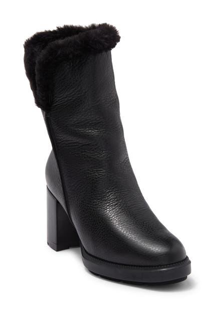 Image of Aquatalia Ilisha Faux Fur Lined Leather Boot