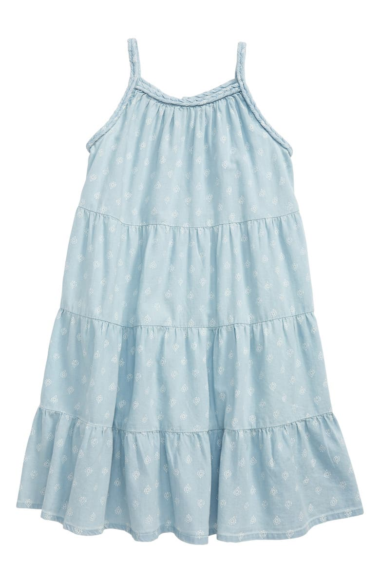 TUCKER + TATE Happy Day Tiered Sundress, Main, color, 450