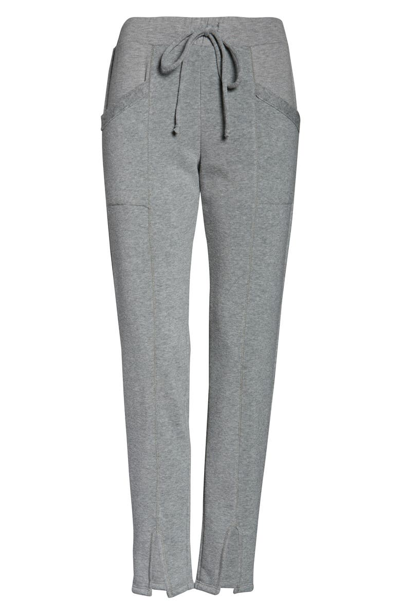PROJECT SOCIAL T Fleece Lounge Pants, Alternate, color, H. GREY