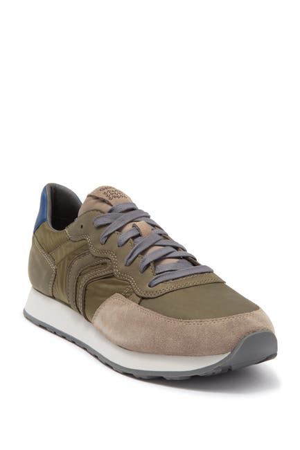 Image of GEOX Vincit Leather Sneaker