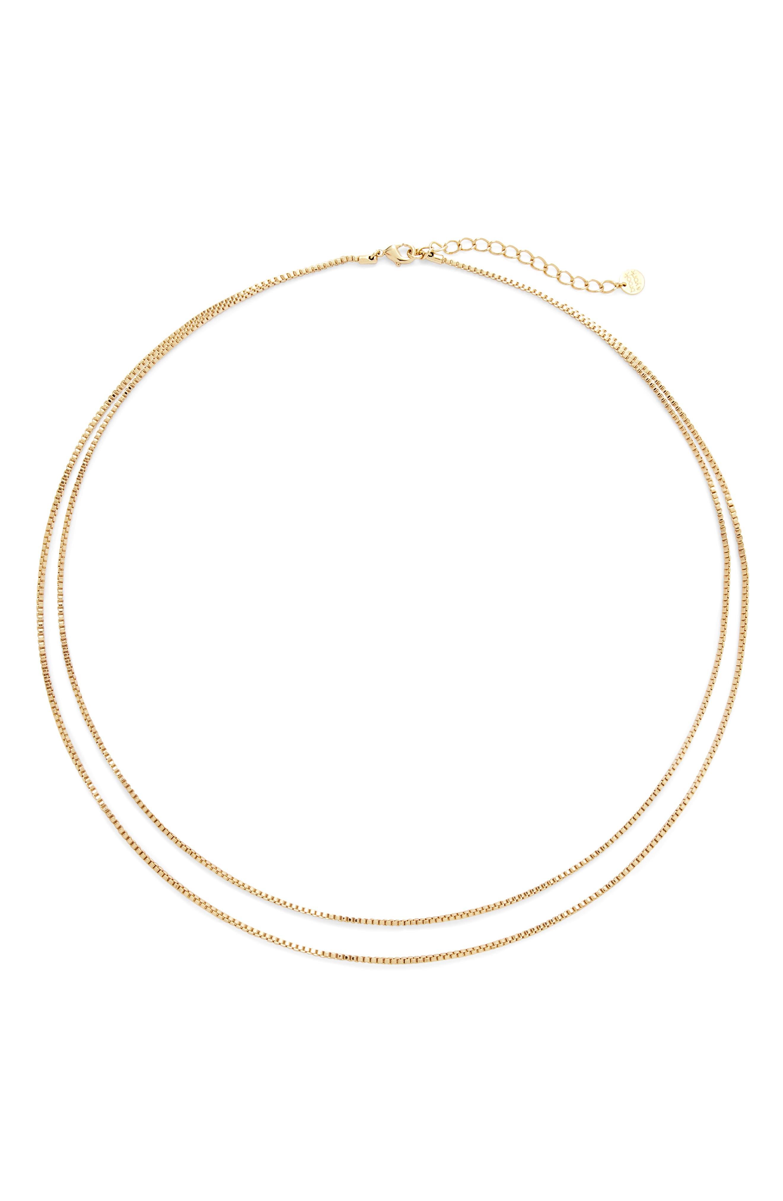 Emma Double Strand Necklace
