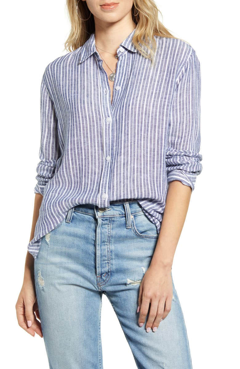 RAILS Sydney Stripe Top, Main, color, TIBET STRIPE