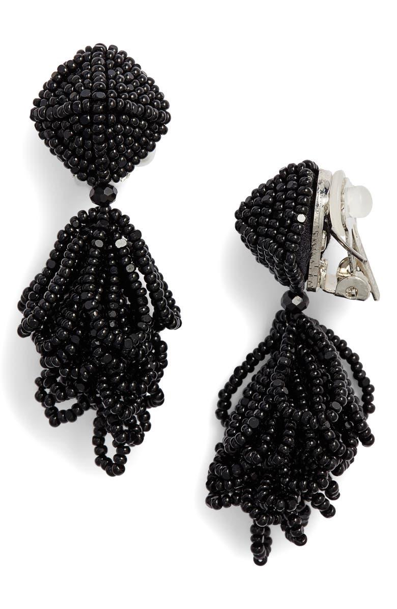 SACHIN & BABI Noir Mini Lulu Drop Earrings, Main, color, 001