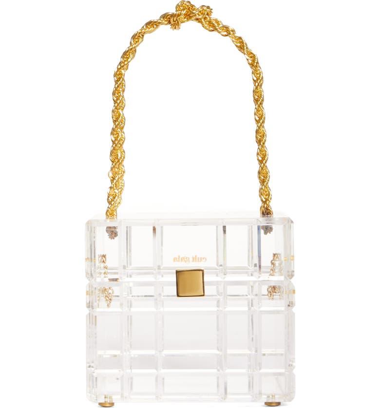 CULT GAIA Phaedra Clear Handbag, Main, color, CLR CLEAR
