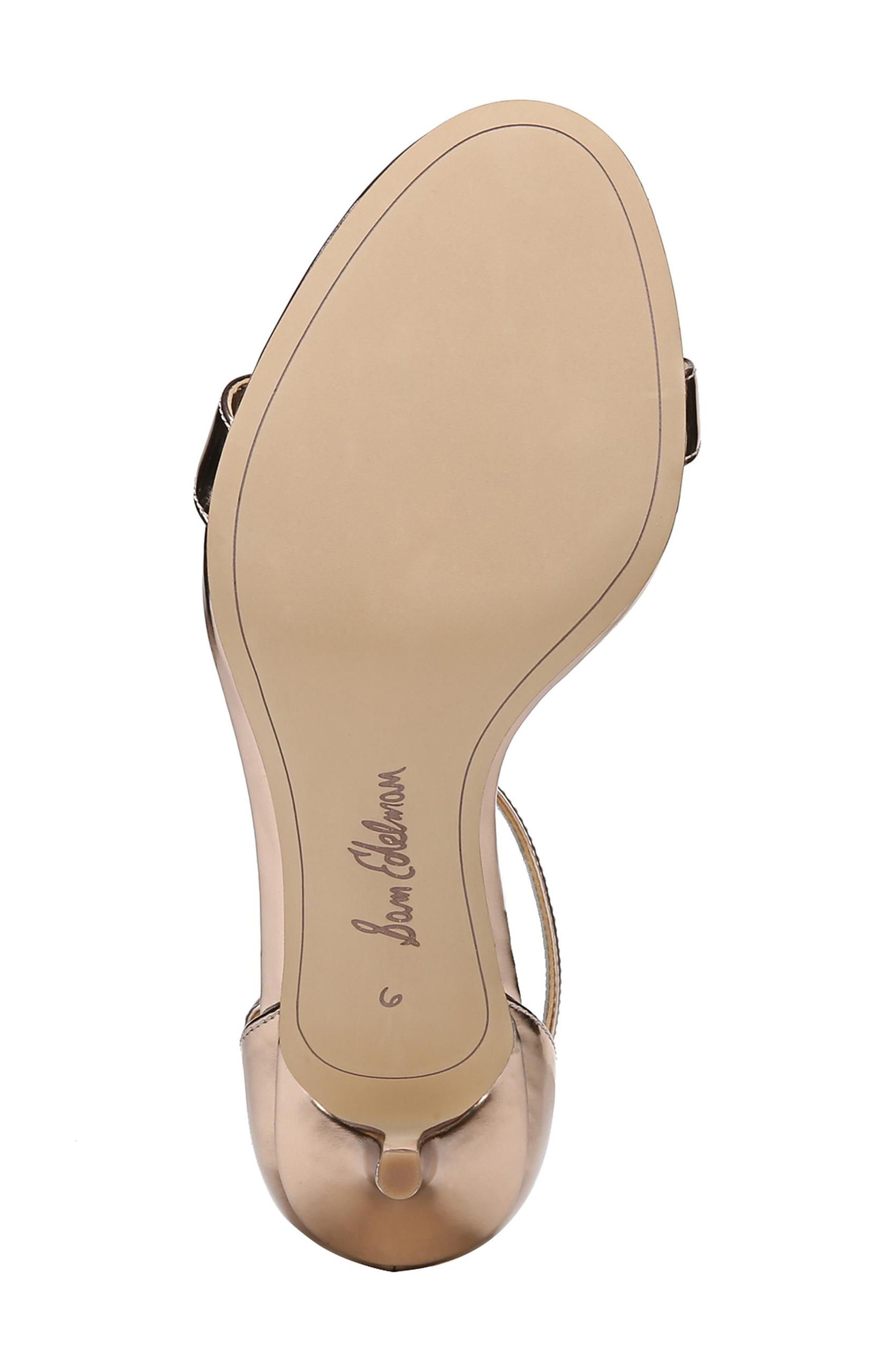 ,                             'Patti' Ankle Strap Sandal,                             Alternate thumbnail 127, color,                             650