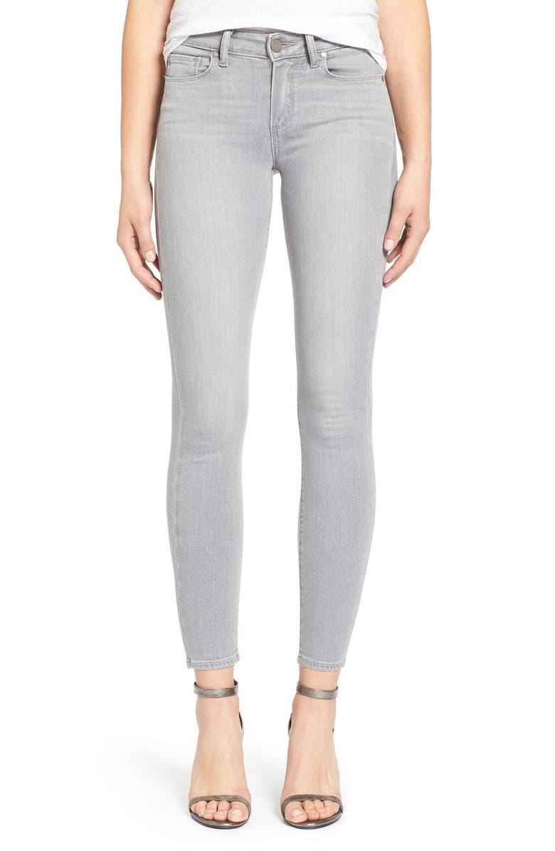 PAIGE Denim 'Verdugo' Ankle Skinny Jeans, Main, color, 020