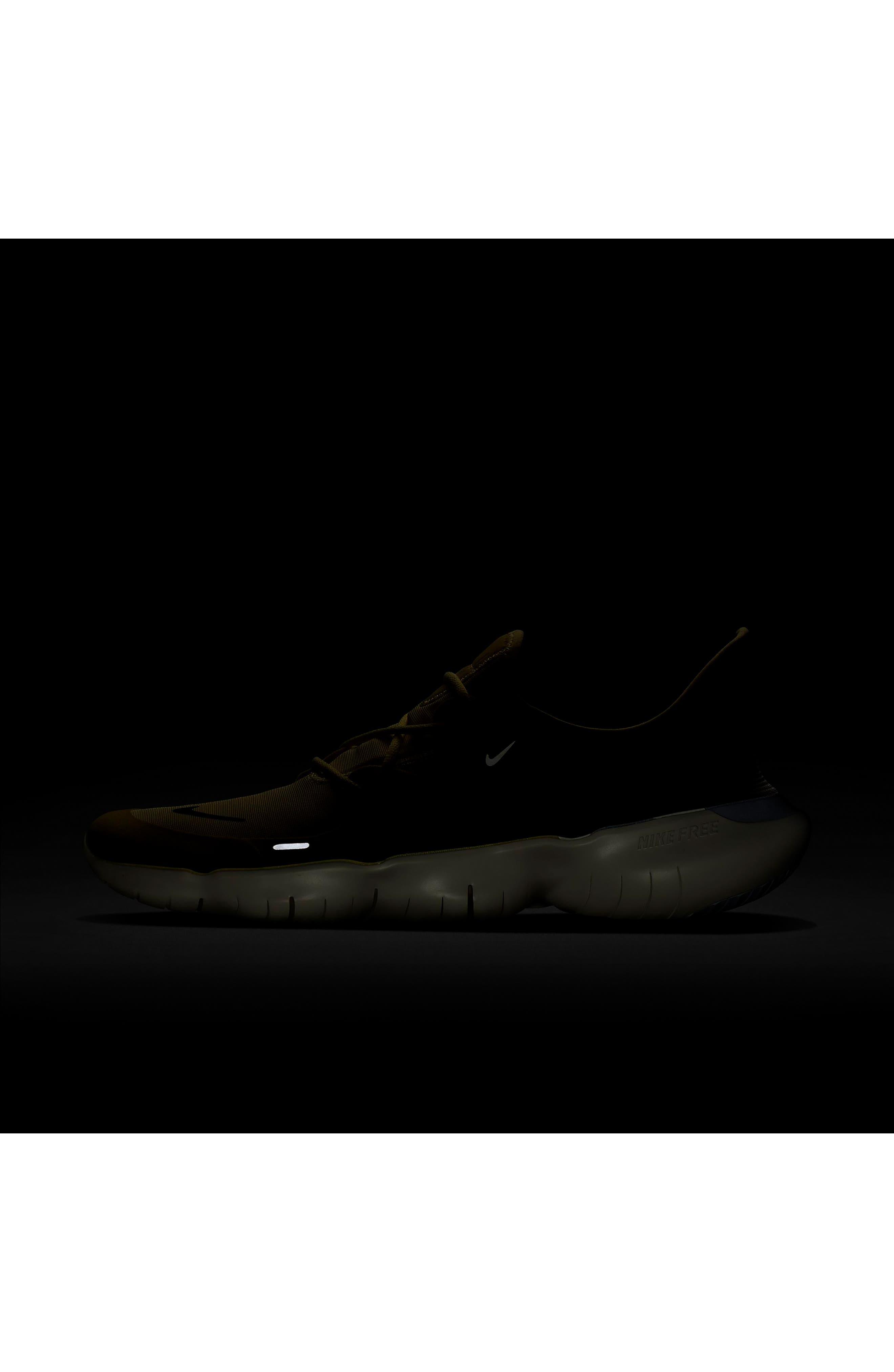 ,                             Free RN 5.0 Running Shoe,                             Alternate thumbnail 6, color,                             LUMINOUS GREEN/ BLACK/ SAIL