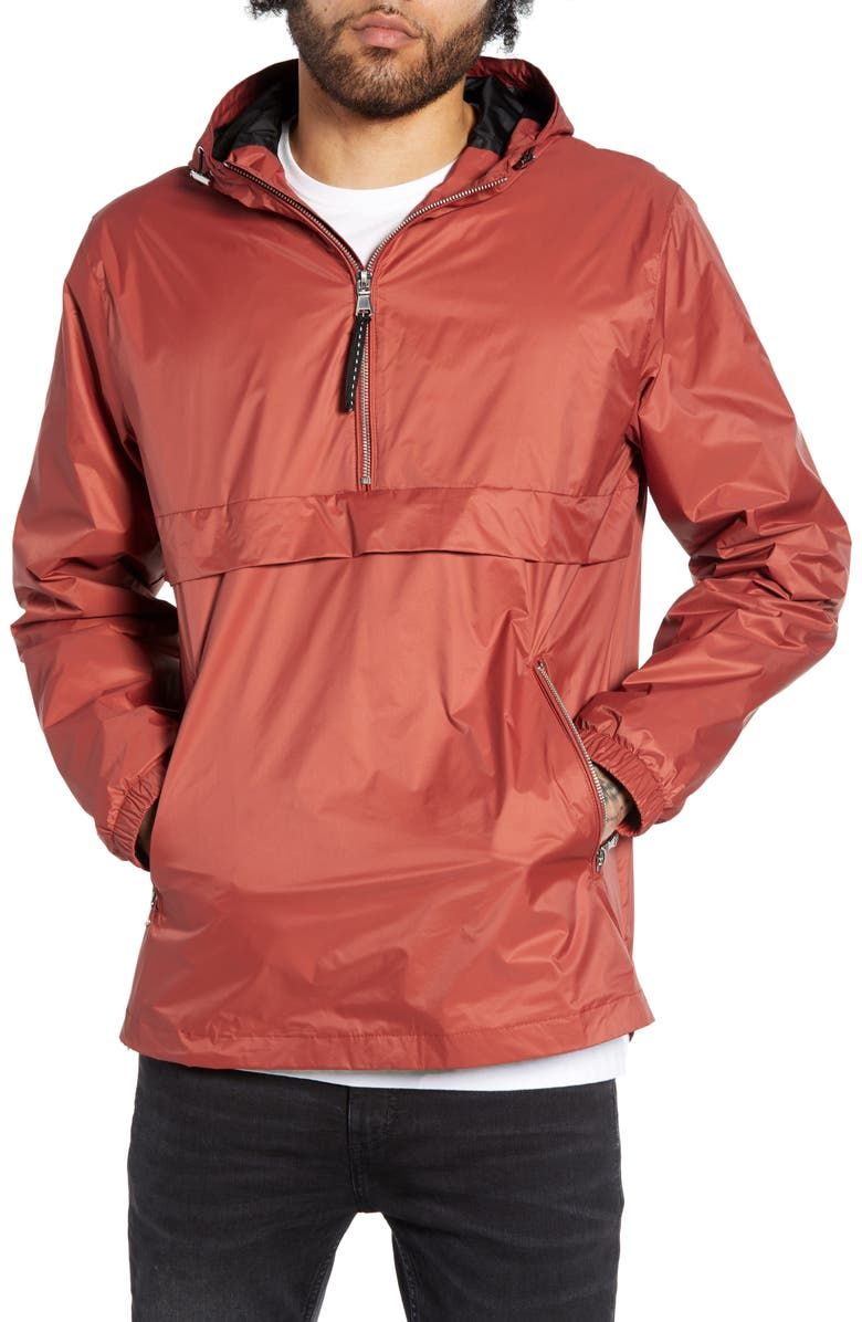 THE VERY WARM Hanover Water Repellent Anorak, Main, color, 802