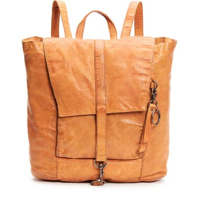 Frye And Co Rubie Leather Backpack - Orange