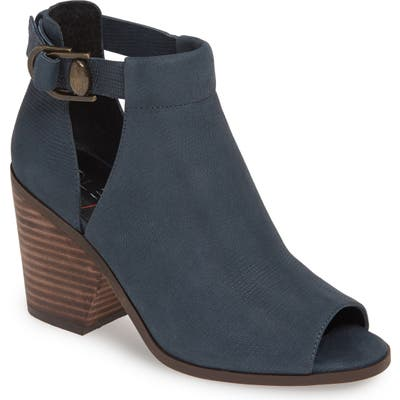 Sole Society Caprica Open Toe Bootie, Blue