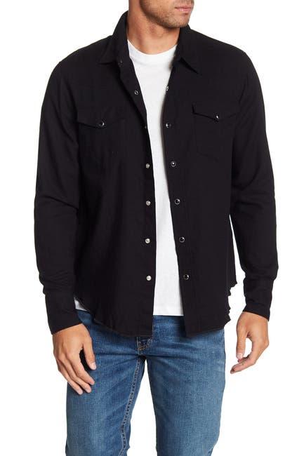 Image of FRAME Western Long Sleeve Regular Fit Shirt