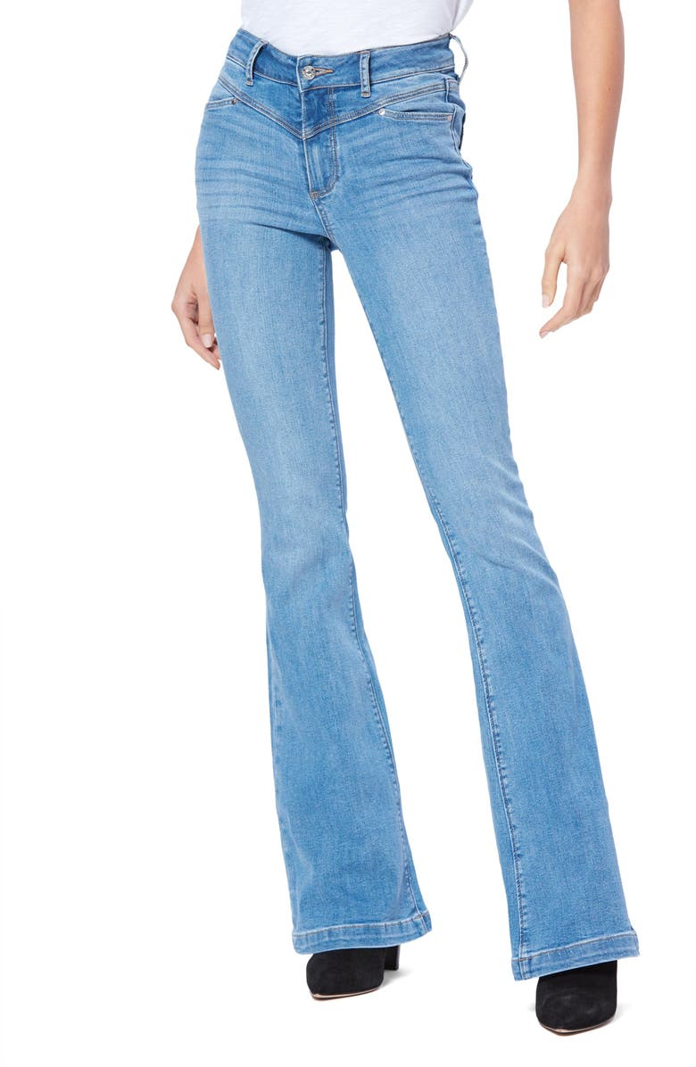 PAIGE Transcend Vintage Bell Canyon High Waist Flare Jeans, Main, color, WESTEND