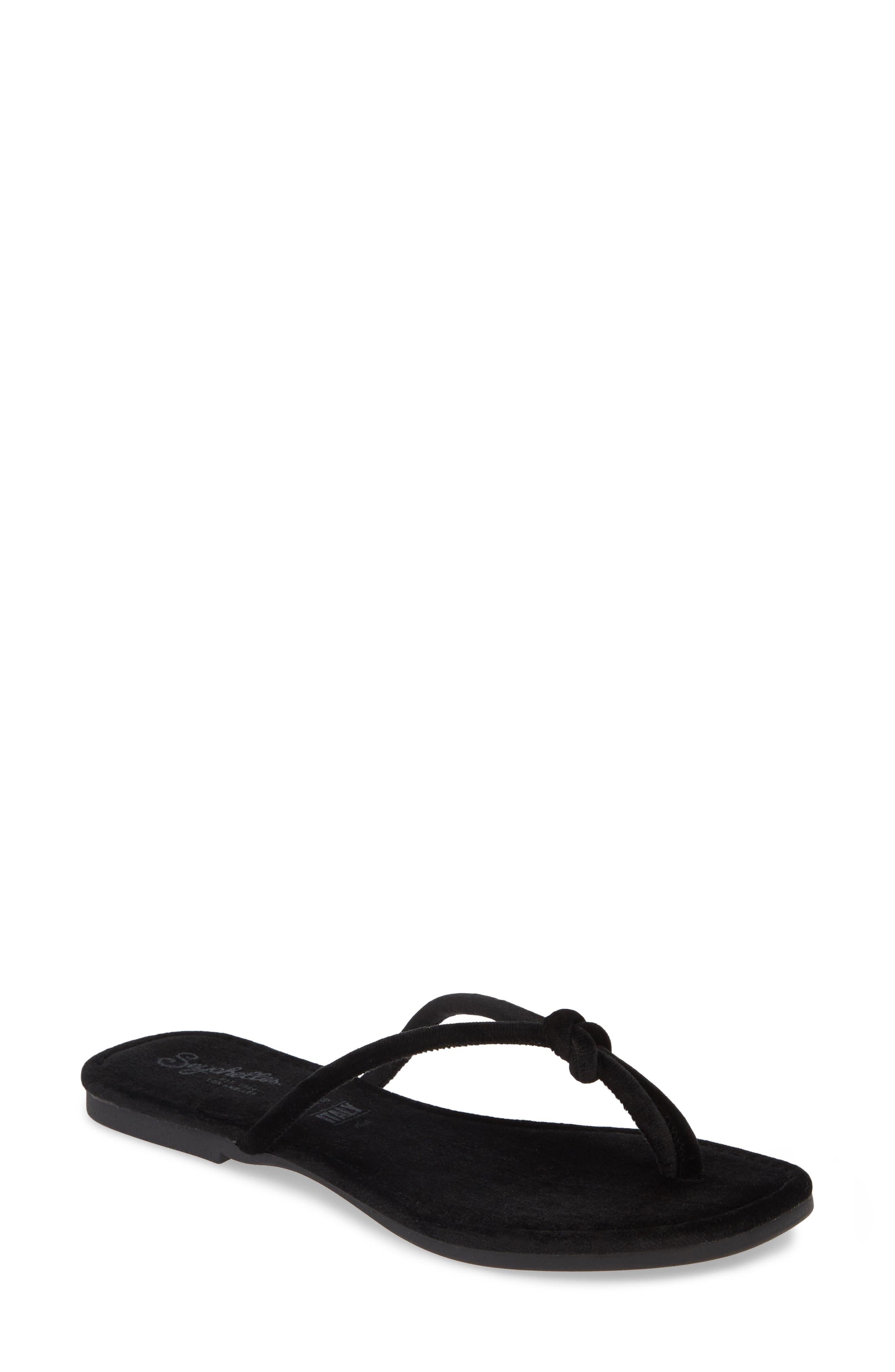 Seychelles Lifelong Flip Flop, Black