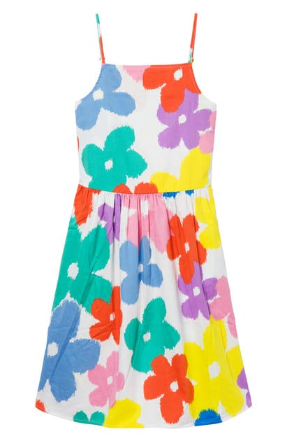 Stella Mccartney Cottons KIDS' FLORAL PRINT ORGANIC COTTON SUNDRESS