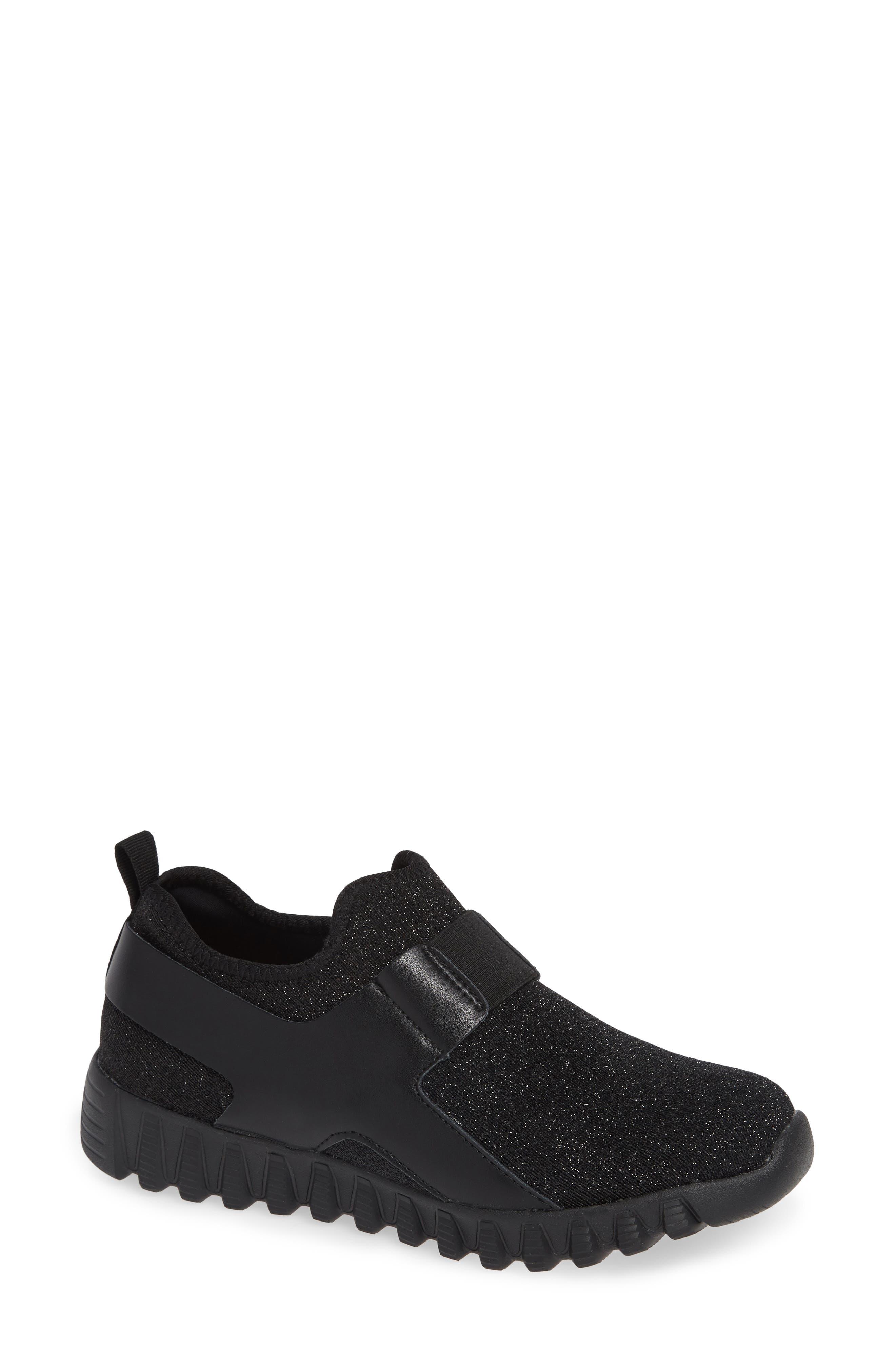 Bernie Mev. Glow Sneaker, Black