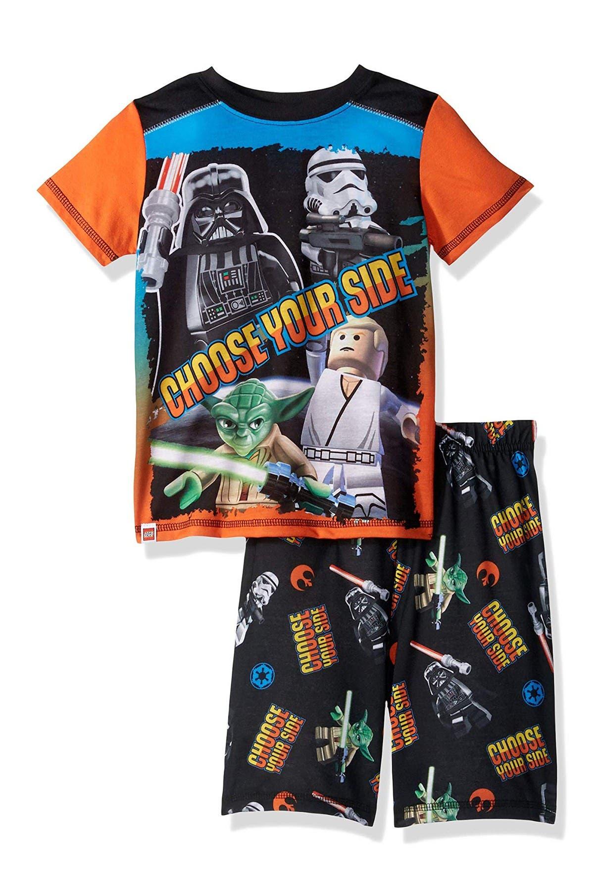 Image of SGI Apparel Lego Star Wars Print 2-Piece Pajama Set