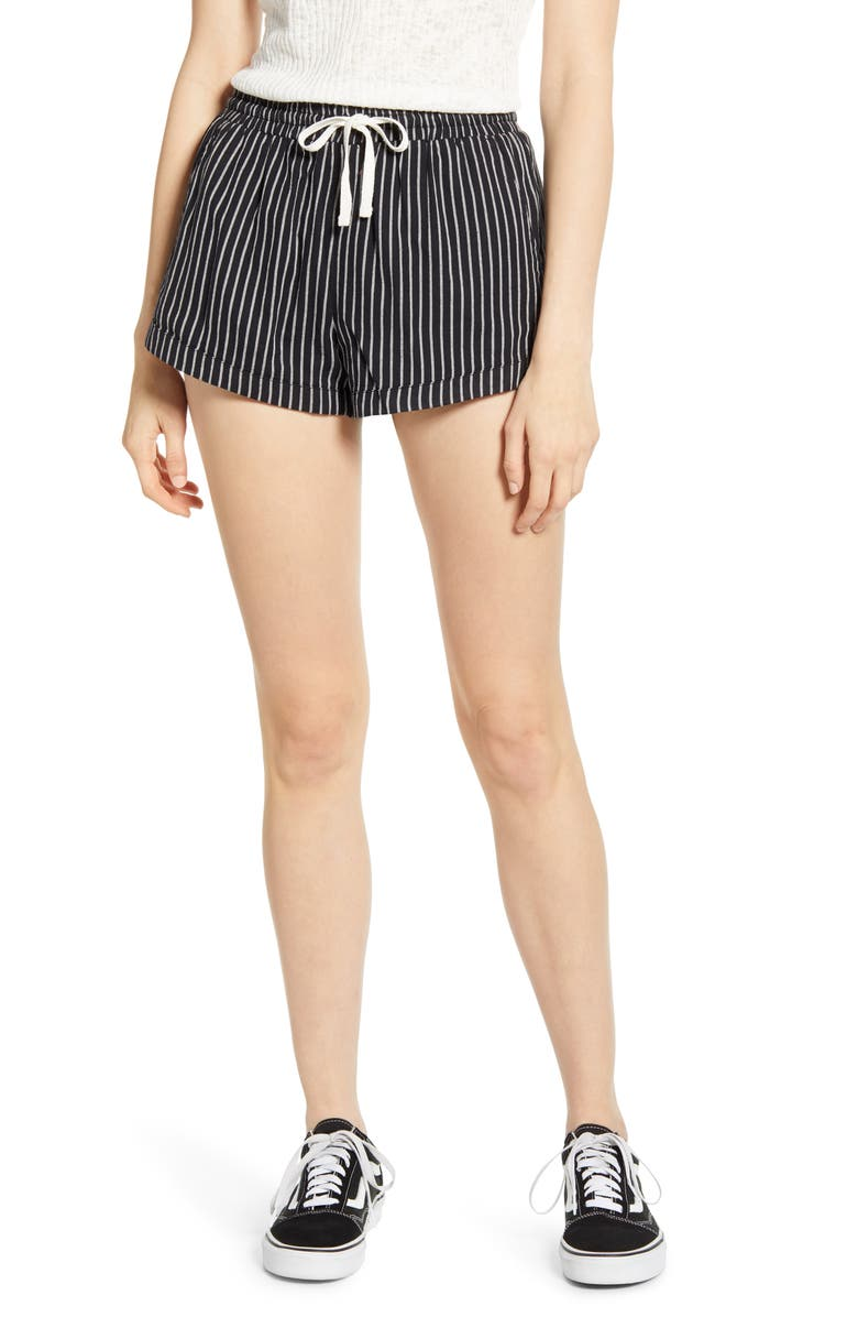 BILLABONG Road Trippin Stripe Shorts, Main, color, BLACK STRIPE