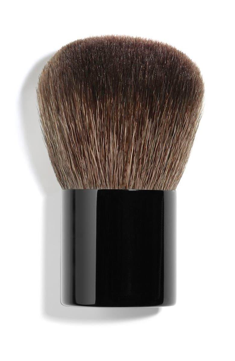 CHANEL LES PINCEAUX DE CHANEL <br />Petite Kabuki Brush, Main, color, 000