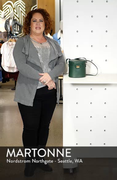 Faux Leather Bucket Bag, sales video thumbnail