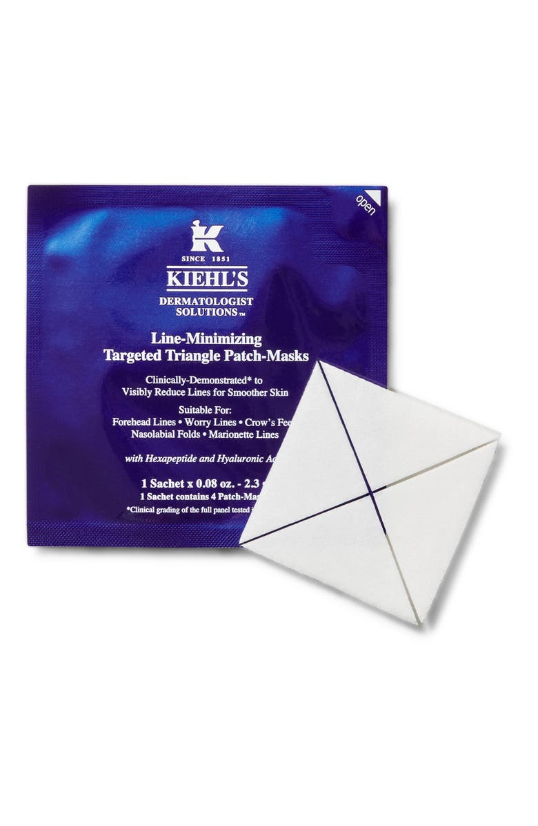 KIEHL'S SINCE 1851 Line-Minimizing Targeted Triangle Patch Mask, Main, color, NO COLOR
