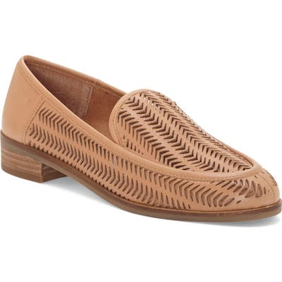 Lucky Brand Camdyn Cutout Loafer- Brown