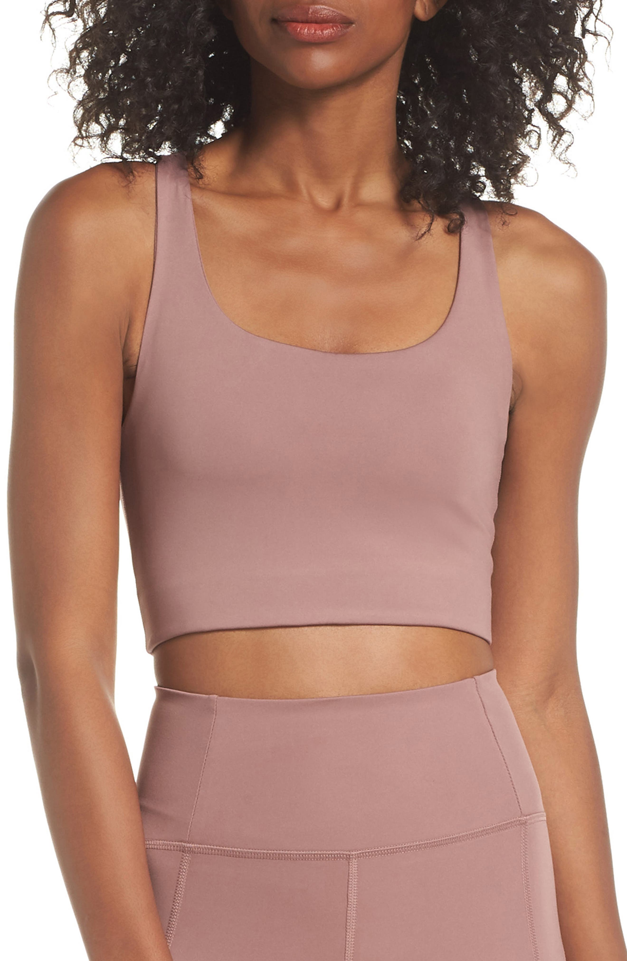 Girlfriend Collective Paloma Sports Bra, Pink