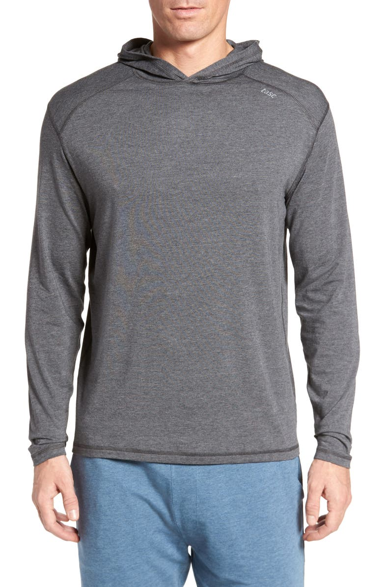 TASC PERFORMANCE Carrollton Regular Fit Pullover Hoodie, Main, color, 010