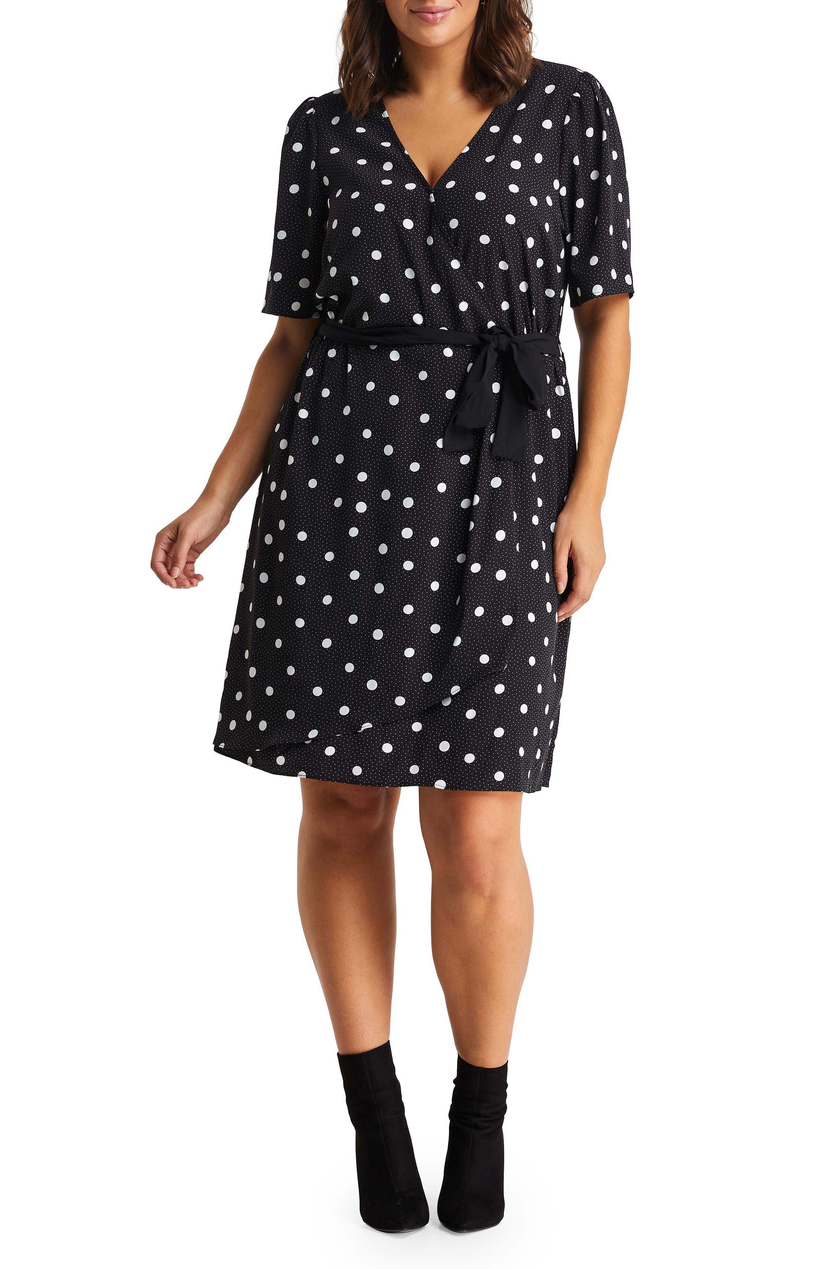 Double Take Dot Dress