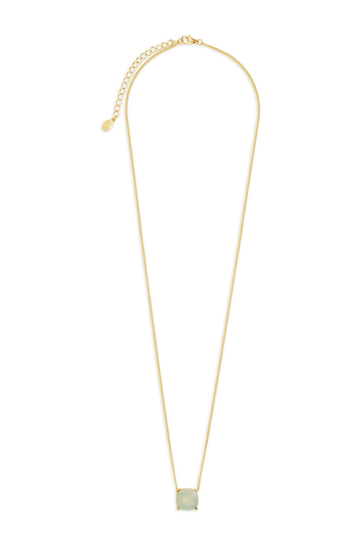 Image of Sterling Forever 14K Gold Plated Brass Opal Haymond Necklace