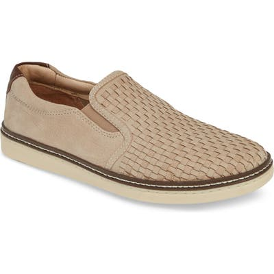 Johnston & Murphy Mcguffy Slip-On- Beige