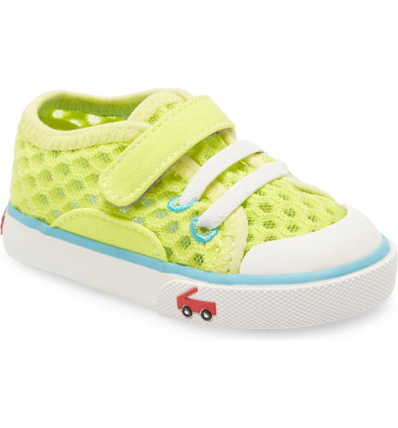SEE KAI RUN Saylor Sneaker, Main, color, LIME GREEN
